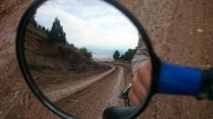 The track to Girdev