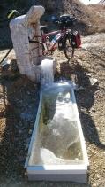 Frozen fountain