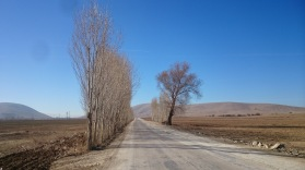 The open road in Anatolia