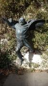 Sculpture of film director Sergei Parajanov