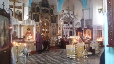 Inside Sameba Cathedral