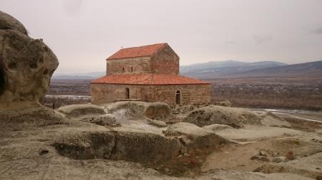 9th century basilica at Uplistsikhe