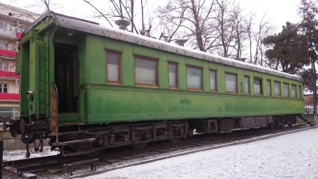 Stalin's bullet proof carriage