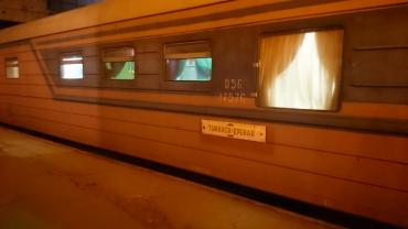 The night train to Yerevan