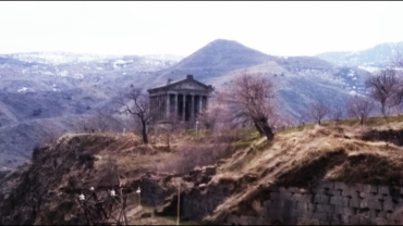 The Temple of Garni, dating back to the first century AD